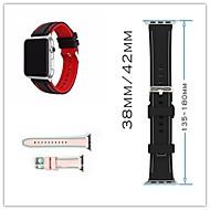 billiga Smart klocka Tillbehör-Klockarmband för Apple Watch Series 3 / 2 / 1 Apple Klassiskt spänne Silikon Handledsrem
