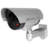 Χαμηλού Κόστους Κάμερες IP-veskys® αδιάβροχο υπαίθρια ασφάλεια ψεύτικο παρακολούθηση παρακολουθεί CCTV κάμερα ασφαλείας προσομοίωσης κάμερα flash για το κατάστημα γκαράζ στο
