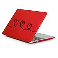 """tanie Akcesoria do MacBooka-MacBook Futerał na Kreatywne Romantyczne Serce Plastikowy Nowy MacBook Pro 15"""" Nowy MacBook Pro 13"""" MacBook Pro 15 cali MacBook Air 13"""