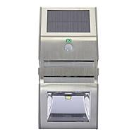 billige Utendørs Lampeskjermer-YWXLIGHT® 1pc 3W Wall Light Solar Lysstyring Utendørsbelysning Varm hvit Kjølig hvit DC3.7V