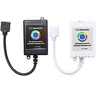 billige belysning Tilbehør-1pc 12-24 V Strip Light Tilbehør / APP / Musikkkontroll RGB-kontroller Plast for RGB LED Strip Light