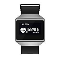 tanie Sprzęt i akcesoria fitness-Inteligentna bransoletka CK12 / Fitness Tracker HR / Monitor pracy serca / Monitor aktywności Tracker / Smart Fitness Band Ekran dotykowy, Wodoodporny, Tętno docelowa Zone (s), Pomiar ciśnienia krwi