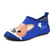 baratos Sapatos de Menino-Para Meninos Sapatos Elastano Verão Conforto Mocassins e Slip-Ons Estampa Animal para Infantil Azul Real