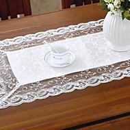 billige Kuvertbrikker-Moderne 100g / m2 Polyester Strik Stretch Kvadrat Duge Mønstret Borddekorasjoner 1 pcs
