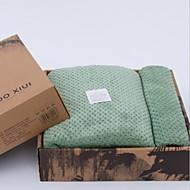 お買い得  バスタオル-優れた品質 バスタオル, ソリッド ポリエステル / コットン混 1 pcs