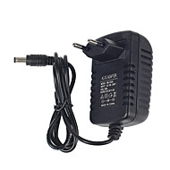 billige belysning Tilbehør-1pc 110-220V med DC-kontakt Omformer EU US Strip Light Tilbehør Strømadapter Strømforsyning Plast for LED Strip lys for RGB LED Strip