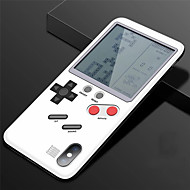 billiga Mobil cases & Skärmskydd-fodral Till Apple iPhone X / iPhone 8 Spelväska Skal Enfärgad Hårt PC för iPhone X / iPhone 8 Plus / iPhone 8