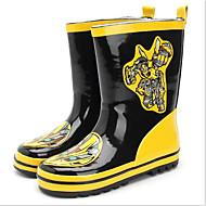 tanie Obuwie chłopięce-Dla chłopców Obuwie Guma Wiosna lato Gumowce Buciki na Żółty