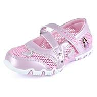 baratos Sapatos de Menina-Para Meninas Sapatos Couro Ecológico Verão Conforto Mocassins e Slip-Ons para Roxo / Vermelho / Rosa claro