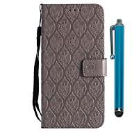 billiga Mobil cases & Skärmskydd-fodral Till Huawei Honor 9 Lite / Honor 7X Plånbok / Korthållare / med stativ Fodral Blomma Hårt PU läder för Huawei Honor 9 Lite / Honor