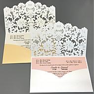 billige Tilbehør! Supersalg-Flat Kort Bryllupsinvitasjoner Kort til forlovelsesfest / Kort til bryllupsfest / Kort til navnefest Kunstnerisk Stil / Eventyr Tema /