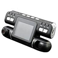 お買い得  車載DVR-F105 1080p ナイトビジョン / 360°監視 / デュアルレンズ 車のDVR 120度 広角の CMOS 2.7 インチ LCD ダッシュカム とともに モーションセンサー カーレコーダー
