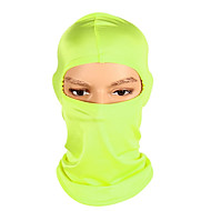 Balaclava / Pollution Protection Mask All Seasons Warm / Windproof / Breathability Camping / Hiking / Outdoor Exercise / Cycling / Bike Unisex Spandex Solid Colored