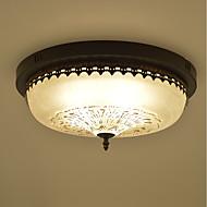 cheap Ceiling Lights-3-Light Flush Mount Ambient Light - Eye Protection, 110-120V / 220-240V Bulb Not Included / 5-10㎡ / E26 / E27