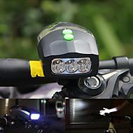 billige Sykkellykter og reflekser-Frontlys til sykkel LED Sykkellykter Sykling Vanntett, Bærbar, Fort Frigjøring Li-ion 200 lm Hvit Camping / Vandring / Grotte Udforskning / Sykling / Flere moduser