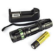 halpa -LED taskulamput / Sukellusvalot / Käsivalaisimet LED 900lm 1 lighting mode Kannettava / Ammattilais / Kulutuksen kestävä Telttailu /