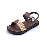 baratos Sapatos de Menino-Para Meninos Sapatos Pele PVC Verão Conforto Sandálias para Bébé Preto / Marron / Azul