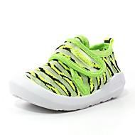 baratos Sapatos de Menina-Para Meninas Sapatos Tule Primavera Verão Primeiros Passos Mocassins e Slip-Ons para Vermelho / Verde / Azul