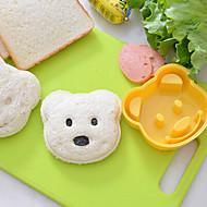 billige Bakeredskap-Bakeware verktøy Plast Søtt / GDS Til Småkake / For Ris / For Godteri Cake Moulds / Dessertverktøy 1pc