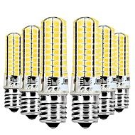 baratos Luzes LED de Dois Pinos-YWXLIGHT® 6pcs 7W 600-700lm E17 Luminárias de LED  Duplo-Pin T 80 Contas LED SMD 5730 Regulável Branco Quente / Branco Frio 220-240V /