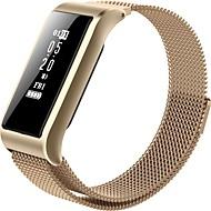 Inteligentní náramek B28 pro iOS / Android Měření krevního tlaku / Spálené kalorie / Dlouhá životnost na nabití / Dotykový displej / Voděodolné Měřič spánku / sedavé Připomenutí / cvičení Připomenut
