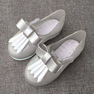 baratos Sapatos de Menina-Para Meninas Sapatos PVC Verão Conforto / Plástico Sandálias para Dourado / Preto / Prateado