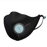 baratos Renovando-xiaomi mijia airpop luz 360 ° pm2.5 anti-neblina máscara facial pele-friendly material antibacteriano