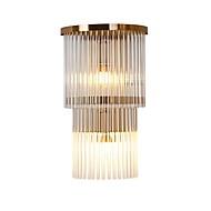 baratos Arandelas de Parede-QIHengZhaoMing Cristal LED / Moderno / Contemporâneo Luminárias de parede Sala de Estar / Quarto de Estudo / Escritório Metal Luz de