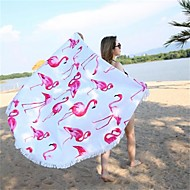 cheap Towels & Robes-Superior Quality Beach Towel, Pattern Poly / Cotton 1 pcs