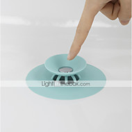cheap Bathroom Gadgets-Shower Drain Stopper Floor Drain Rubber Circle Silicone Plug for Shower Bathtub Plug Bathroom Leakage-proof Drain