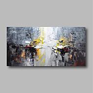 baratos -Pintura a Óleo Pintados à mão - Abstrato Paisagem Contemprâneo Tela de pintura
