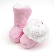 tanie Obuwie dziewczęce-Dla dziewczynek Obuwie Materiał Zima Wygoda na Żółty / Niebieski / Różowy