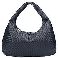 baratos Bolsas Tote-Mulheres Bolsas Algodão / Poliéster Tote Ziper Cinzento Escuro / Azul Céu / Vinho