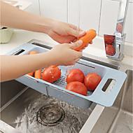 Køkkenorganisation Opbevaringskasser Plastik Opbevaring / Nem at Bruge 1pc