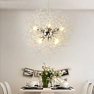 billige Bestelgere-moderne galvaniserte globus lysekroner fyrverkeri ledet vintage anheng lys stue spisestue g9 pære base