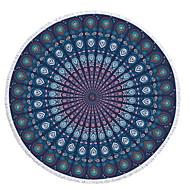 tanie Ręcznik plażowy-Najwyższa jakość Ręcznik plażowy, Malarstwo / Geometric Shape Mieszanka bawełny i poliestru 1 pcs