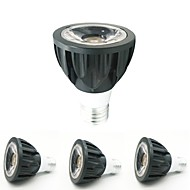 baratos Luzes LED de Encaixe-ZDM® 4pçs 7W 1 LEDs Lâmpadas de Foco de LED Branco Quente Branco Frio Branco Natural 12V 85-265V Comercial Lar / Escritório