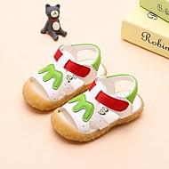 tanie Obuwie chłopięce-Dla chłopców Obuwie Skóra patentowa Lato Comfort Sandały na White / Yellow