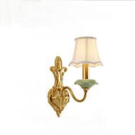 billige Vegglamper-QINGMING® Mini Stil Rustikk / Hytte / Land Vegglamper Stue / Soverom / butikker / cafeer Metall Vegglampe 110-120V / 220-240V 5W