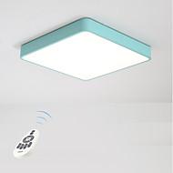 Flush Mount Ambient Light - Zatamnjen, 220-240V, Zatamnjen daljinskim upravljačem, Bulb Included / 15-20㎡ / Integrirano LED svjetlo