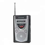 ieftine Testere & Detectoare-OJADE OE-1201 Mini portabil AM / FM 2-Band Radio
