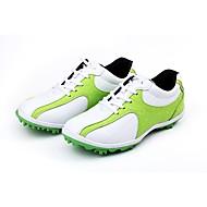 baratos Sapatos Masculinos-Homens Couro Ecológico Verão Conforto Tênis Marron / Vermelho / Verde