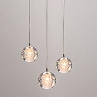 billige -3-Light Globe Vedhæng Lys Baggrundsbelysning - Ministil, Kreativ, 110-120V / 220-240V Pære ikke Inkluderet