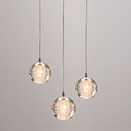 preiswerte -3-Licht Kugel Pendelleuchten Raumbeleuchtung - Ministil, Kreativ, 110-120V / 220-240V Glühbirne nicht inklusive