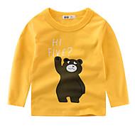 幼児 男の子 プリント 長袖 Tシャツ