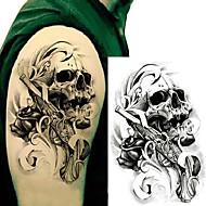 Klistermærke / Tattoo Sticker arm Midlertidige Tatoveringer 3 pcs Totem Serier Kropskunst