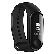"billige -original xiaomi mi band 3 fitness tracker pulsmåler 0,78 ""oled display touchpad bluetooth 4.2 android ios"