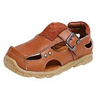 baratos Sapatos de Menino-Para Meninos Sapatos Sintéticos Verão Conforto Sandálias para Preto / Marron / Azul