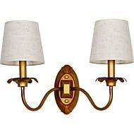baratos Arandelas de Parede-Novo Design Vintage Luminárias de parede Sala de Estar / Corredor Metal Luz de parede 220-240V