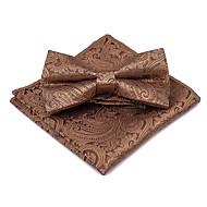 Unisexo Vintage / Festa Gravata Borboleta - Laço Estampado